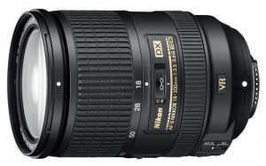 Nikon 18-300mm-f3.5-5.6 Nikkor ED VR zoom lens