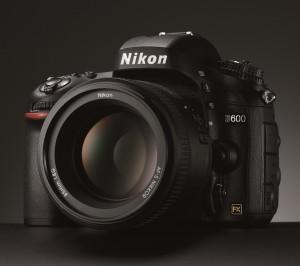 Nikon D600 Front-Side
